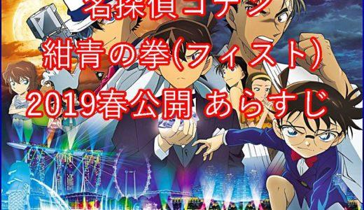 【予告動画徹底分析】名探偵コナン紺青の拳(フィフト)のあらすじを公開