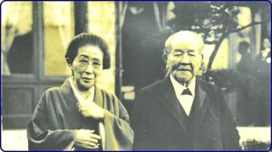 渋沢栄一と夫人