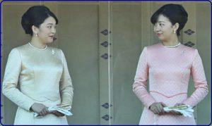 即位一般参賀のドレス