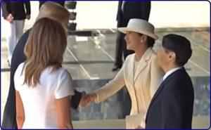トランプ大統領天皇皇后会見