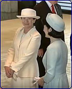 トランプ大統領歓迎式典