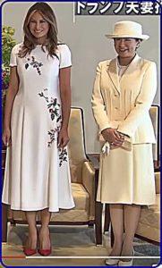 トランプ大統領歓迎晩餐会