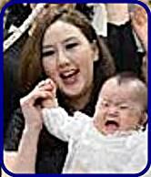 横綱鶴竜の嫁はモンゴル美人