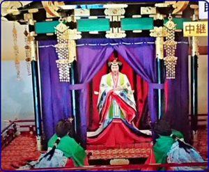 即位礼正殿の儀皇后雅子様の衣装