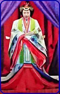 即位礼正殿の儀の皇后雅子様の衣装