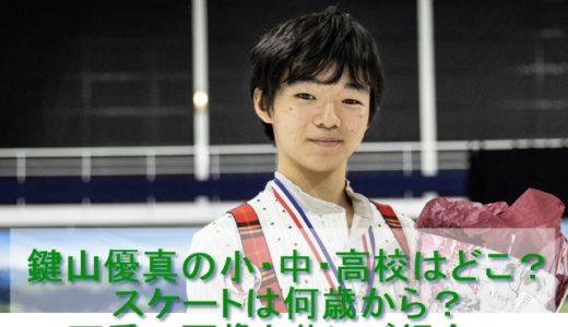 フィギュアスケート鍵山優真の小・中・高校はどこ?スケートは何歳から?可愛い画像と共にご紹介!