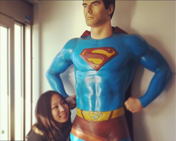野口啓代 スーパーマンと