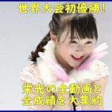 本田紗来世界初優勝のすごい実力
