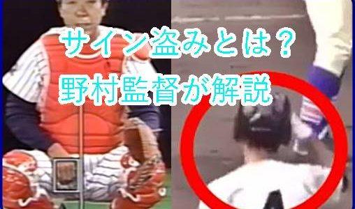 サイン盗みはなぜ違反?野村監督解説&証拠動画でバレた習志野と横浜のプレーをわかりやすく説明